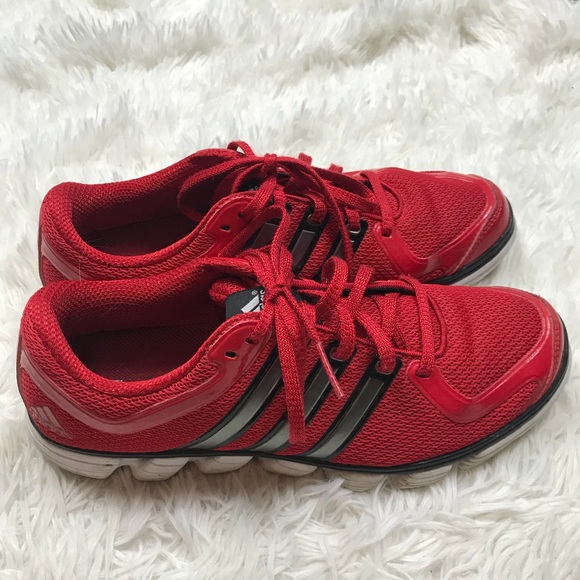 on sale 7f570 14a4d adidas Other - Men s Adidas red shoes size 9